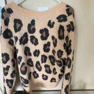 NWOT- PINK Victoria Secret Knit Sweater
